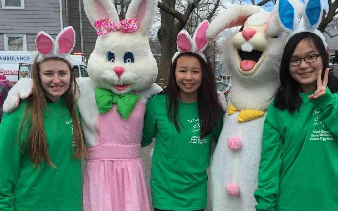 Brighton Main Streets Annual Gerry McCarthy Easter Egg Hunt at Sisters of St. Joseph Motherhouse