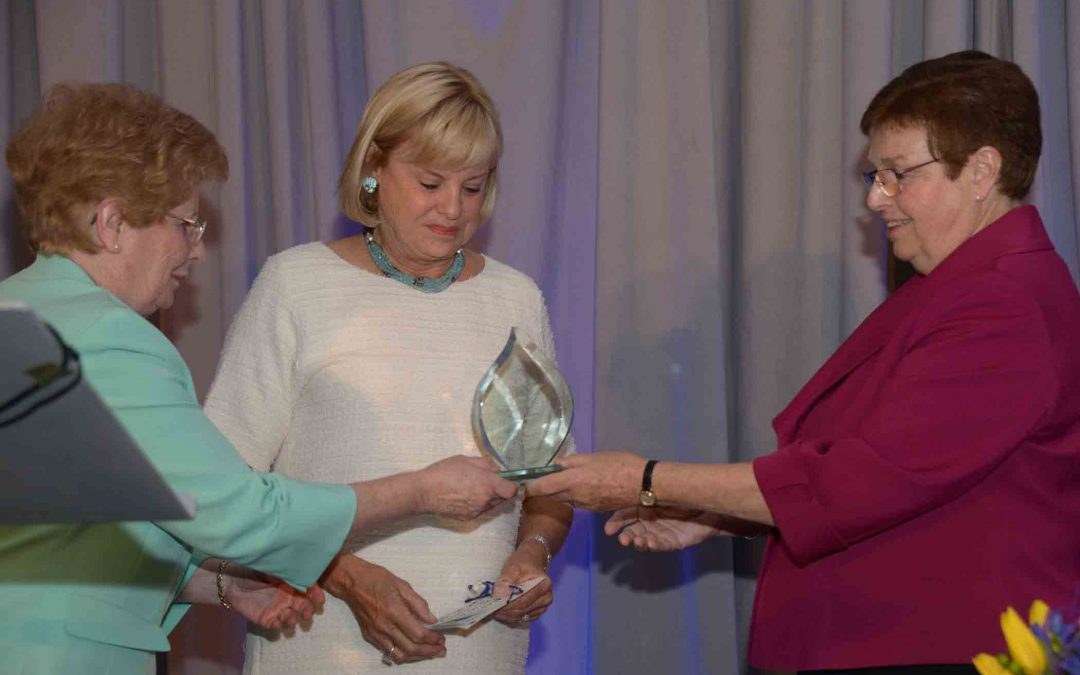 Sisters of St. Joseph of Boston Honor Eileen Connors and Family at Living the Dream Dinner 2016