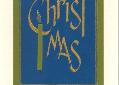 #25 Christmas Card
