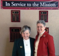 Sisters Anne D'Arcy and Pat Boyle Honored for Years of Service