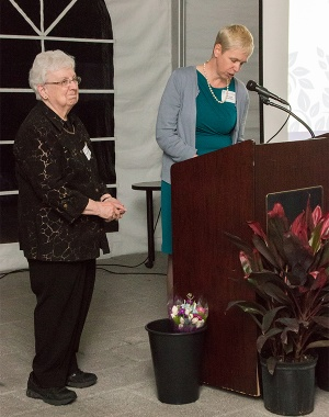 Betty Cawley, CSJ, Honored