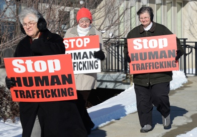 Boston Area Catholic Sisters Host Ninth Annual Prayer Vigil for National Human Trafficking Awareness Day