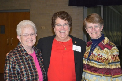 Marilyn McGoldrick, CSJ and Maryann Enright, CSJ Honored by Fontbonne Academy