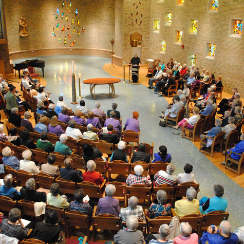 July 6, 2019- 4:00 pm Saturday Vigil for Sunday – Motherhouse