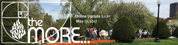 the MORE… Online Updates Volume 2.1.11 – May 17, 2017