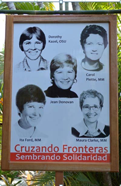 Women Religious Travel to El Salvador for the 35 Anniversary of Martyred U.S. Churchwomen