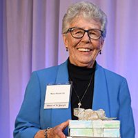 Sister Mary Black receives special recognition at the Living the Dream Dinner