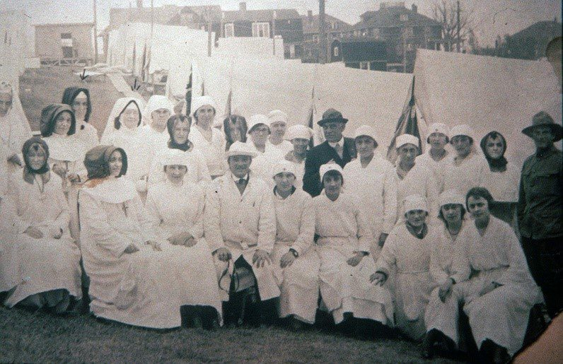 From our Archives: CSJ Boston Sisters During 1918 Flu Epidemic