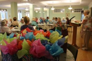 Jean Mulloy, CSJ, speaks during the Transportation Committee Luncheon on September 21.